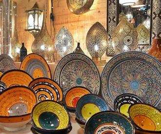 Lampen und Schalen von Maroc Interieur