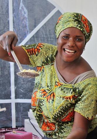 Guten Appetit auf dem Afrika-Festival Böblingen