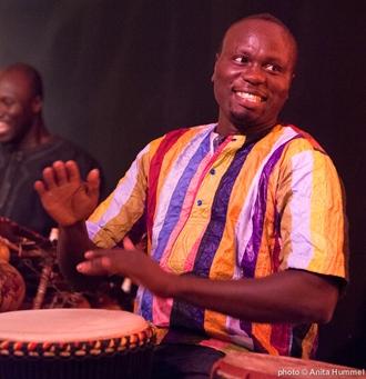 Pape Samory Seck von Trio Dakar