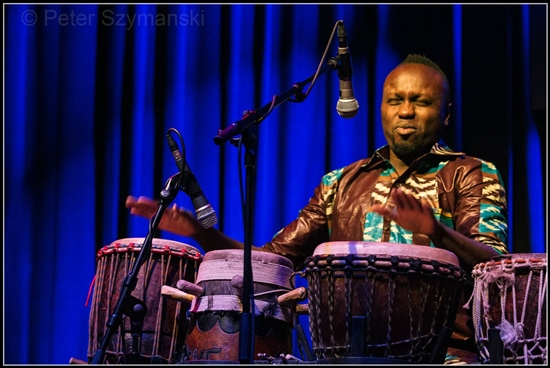 Pape Samory Seck kommt wieder zum Afrika-Festival Böblingen