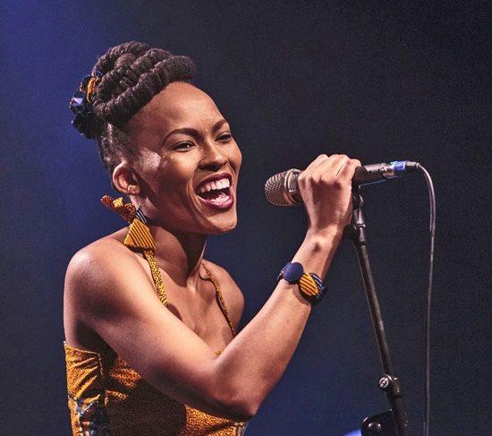 Thabilé beim Afrika-Festival Böblingen